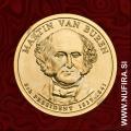 2008 Amerika 08. predsednik Martin Van Buren, 1 USD