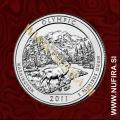 2011 Amerika 08. nacionalni park Olympic, 0.25 USD