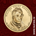 2009 Amerika 09. predsednik William Henry Harrison, 1 USD