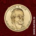 2009 Amerika 11. predsednik James K. Polk, 1 USD