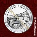 2012 Amerika 12. nacionalni park Chaco Culture, 0.25 USD