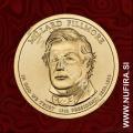 2010 Amerika 13. predsednik Millard Fillmore, 1 USD
