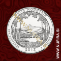 2013 Amerika 16. nacionalni park White Mountain, 0.25 USD