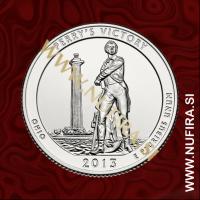 2013 Amerika 17. nacionalni park Perrys Victory, 0.25 USD