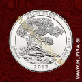 2013 Amerika 18. nacionalni park Great Basin, 0.25 USD