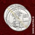 2013 Amerika 19. nacionalni park Fort McHenry (P+D), 0.25 USD
