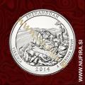2014 Amerika 22. nacionalni park Shenandoah, 0.25 USD
