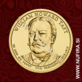 2013 Amerika 27. predsednik William Howard Taft, 1 USD