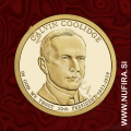 2014 Amerika 30. predsednik Calvin Coolidge, 1 USD