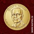 2015 Amerika 33. predsednik Harry S. Truman, 1 USD