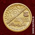 2018 Amerika, Ameriški izumi, 1 USD