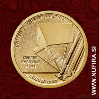 2020 Amerika Izumi 06, Connecticut, 1 USD