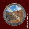 2012 Amerika 12. nacionalni park Chaco Culture (barvni), 0.25 USD