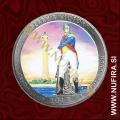 2013 Amerika 17. nacionalni park Perrys Victory (barvni), 0.25 USD