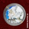 2013 Amerika 20. nacionalni park Mount Rushmore (barvni), 0.25 USD