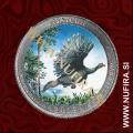 2015 Amerika 27. nacionalni park Kisatchie (barvni), 0.25 USD