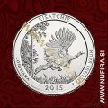 2015 Amerika 27. nacionalni park Kisatchie, 0.25 USD