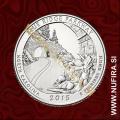 2015 Amerika 28. nacionalni park Blue Ridge, 0.25 USD