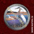 2015 Amerika 29. nacionalni park Bombay Hook (barvni), 0.25 USD
