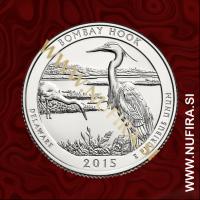 2015 Amerika 29. nacionalni park Bombay Hook, 0.25 USD