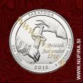2015 Amerika 30. nacionalni park Saratoga, 0.25 USD