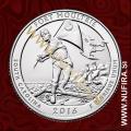 2016 Amerika 35. nacionalni park Fort Moulltrie, 0.25 USD