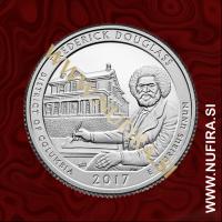 2017 Amerika 37. nacionalni park Frederick Douglass, 0.25 USD
