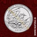 2017 Amerika 40. nacionalni park George Rogers Clark, 0.25 USD