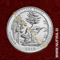 2018 Amerika 41. nacionalni park Pictured Rocks, 0.25 USD