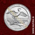 2018 Amerika 44. nacionalni park Cumberland Island, 0.25 USD