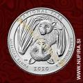 2020 Amerika 51. American Samoa Park, 0.25 USD