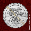 2020 Amerika 53. Salt River Bay 0.25 USD