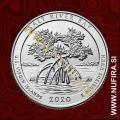 2020 Amerika 53. Salt River Bay 0.25 USD