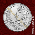 2020 Amerika 54. Marsh-Billings-Rockefeller 0.25 USD