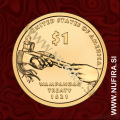 2011 Amerika, Sacagawea, 1 USD