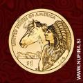 2012 Amerika, Sacagawea, 1 USD