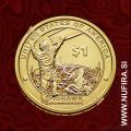 2015 Amerika, Sacagawea, 1 USD