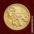 2018 Amerika, Sacagawea, 1 USD