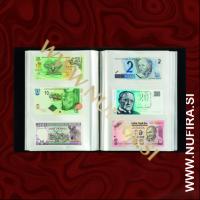 Album za 300 bankovcev, 100 listov, črn