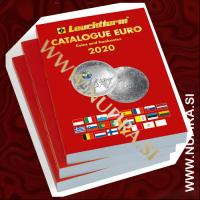 Katalog EURO kovncev in bankovcev 2020