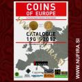 Katalog kovancev v Evropi od 1901 do 2012 (ANG)