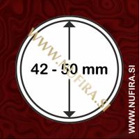 Kapsule za kovance: Ø 42 - Ø 50 mm (1x)