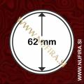 Kapsule za kovance: Ø 62 mm (1x)