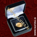Etui za kovance NOBILE: MAGNICAPS (50x50 mm), črn