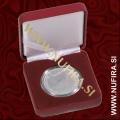 Etui za kovance NOBILE: Ø 26 - Ø 48 mm, rdeč