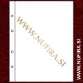 Listi NUMIS, 1 predal (1C), prozoren (10x)
