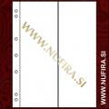 Listi NUMIS, 2 x predal za bankovce in kartice (2VC), prozoren (10x)