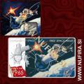 2011 Niue, Conquest of Space, First Space Walk (Alexei Leonov), 2 NZD, 1oz