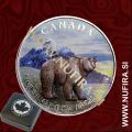 2011 Kanada, Medved (barvni), 5 CAD, 1oz