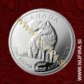 2011 Kanada, Volk, 5 CAD, 1oz